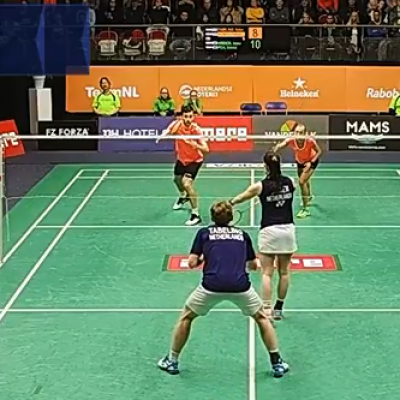 Internationaal Top Badminton aan je voeten